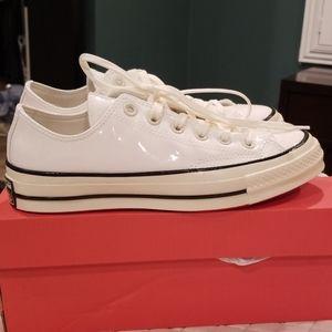 Converse Shoes - NWB White Patent CONVERSE Chuck 70 OX Sz 7